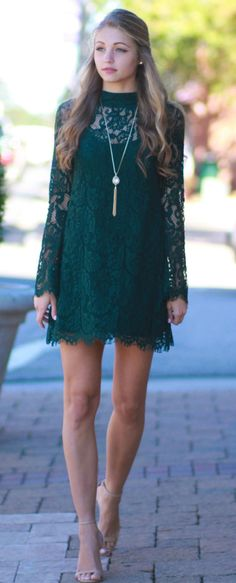 Lace Love Fall Dress from Cousin Couture.