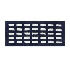 The Ridge Reversible Tufted Microfiber Bath Rug offers a modern update to  your bathroom. Fully reversible c56bb72e0