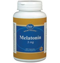 Nature's Blessing Melatonin Capsules. Melatonin is a naturally-occurring hormone in humans that is produced by the pineal gland and plays a role in the regulation of the sleep-wake cycle. It is also a powerful antioxidant that supports immune system function. As we age, melatonin levels decline, so supplementation is necessary to provide optimal levels of this important hormone.
