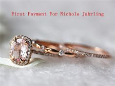 First Payment for Nichole Jahrling 14k Rose Gold by InOurStar