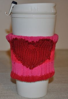 RYLO big heart travel mug cozy. Cup cozy for your by RYLOwear, $8.00