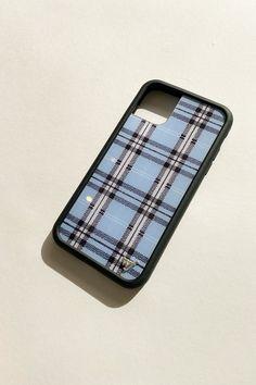 Blue Plaid iPhone Case - Blue Plaid / 11P