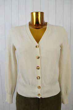 MC LEOD Damen Strickjacke Cardigan Ecru V-Ausschnitt Langarm Cashmere  Gr.46  S in Kleidung   Accessoires, Damenmode, Pullover   Strick   eBay e63c2f76f5