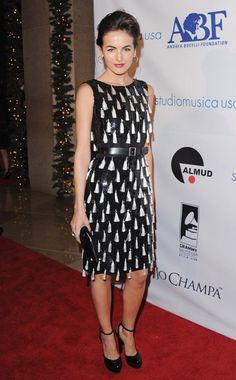 Camilla Belle in Oscar de la Renta dress b843abb56