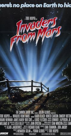 Directed by Tobe Hooper.  With Karen Black, Hunter Carson, Timothy Bottoms, Laraine Newman. A boy tries to stop aliens who have taken over his town and are attempting to brainwash its inhabitants.