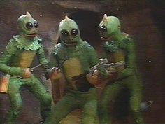 Sleestak...eek! From The Land of the Lost. They moved so slow, I can't imagine how they ever caught anyone.