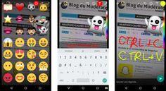 WhatsApp copie Snapchat : des emojis, des stickers, des dessins et un mode nuit pour les selfies