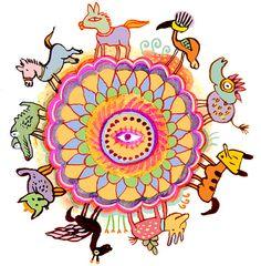 Childhood Mandala by Eitan Kedmy