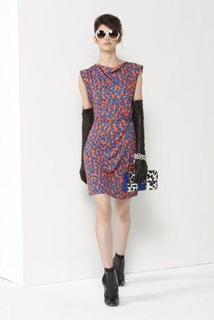 Diane von Furstenberg | Pre-Fall 2012 Collection | Vogue Runway