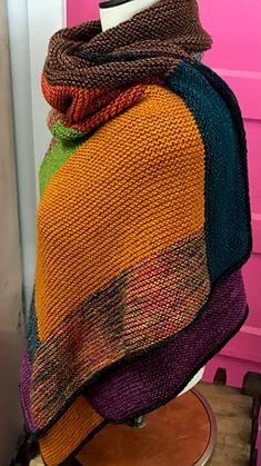 Craftsman Wrap by Leslie Keith Shaw   malabrigo Dos Tierras