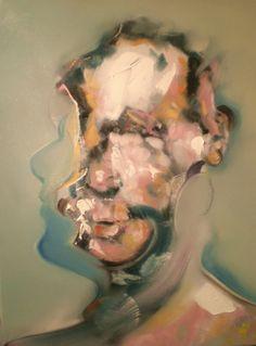 Head lV 2009, oil on canvas