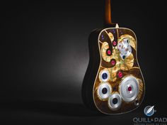 RGM Collaborates On Two Millionth Martin Guitar With Integrated Unique Piece Watch http://timeby.date/rgm-collaborates-on-two-millionth-martin-guitar-with-integrated-unique-piece-watch/ Quill & Pad