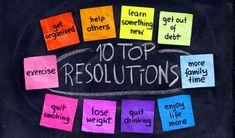 Top 10 Resolutions!