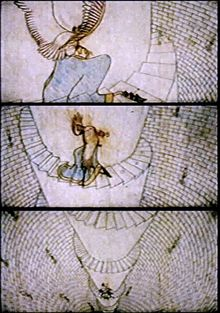 The Thief and the Cobbler - animated by Richard Williams and is his absolute masterpiece!   Took 28 years of work( 1964-95 ) and it is famous for its long,troubled story :)