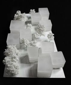 architectural model, amann-canovas-maruri . Magalhaes