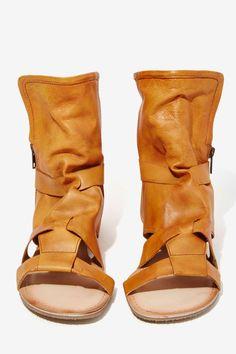 Wanderlust Leather Sandal Bootie - Shoes | Flats | Shoes | Shop All