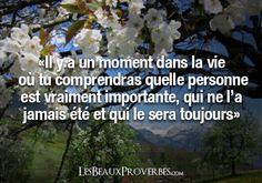 Les Beaux Proverbes – Proverbes, citations et pensées positives » » Tu comprendras