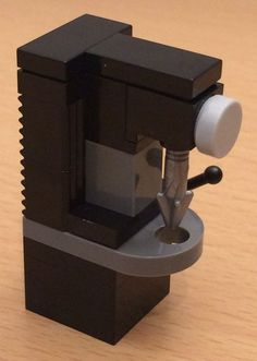 NEW LEGO Custom Drill Press - no instructions (MACHINERY WORKSHOP CARPENTRY) #LEGO