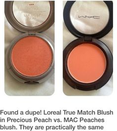 I can't wait to try!! I LOVE MAC Peaches.. L'Oréal dupe
