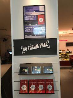 a outra face de Vitória: A apresentação na FNAC em Coimbra foi assim: