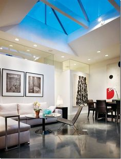 old idea made new: polished concrete floors