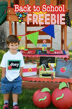 Amanda's Parties To Go: FREE Back to School Printables HUGE Set