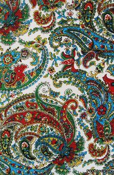 Схема вышивки «пейсли» - Вышивка крестом