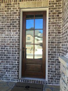 Ashton brick Mortar Ivory House Colors, House Design, House Siding, Brick Exterior House, House Painting, Brick And Stone, Exterior Brick, Stone Houses, House Exterior