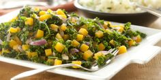 Flavorful and packed with nutrition, this Butternut Squash & Kale salad is good eating at its best #SaladBarNation #Salad
