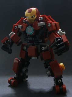 I think this is the most realistic LEGO version of the Hulkbuster I've seen so far
