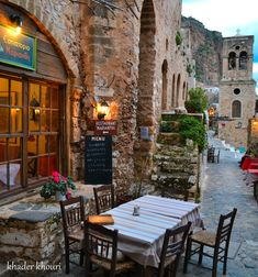The streets of Monemvasia Mountain ... by Khader khouri on 500px