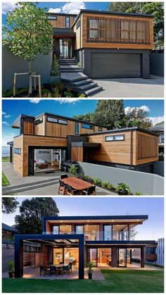 Building A Container Home, Container House Plans, Container Homes, Cool House Designs, Modern House Design, Simple House Design, Modern Architecture House, Architecture Design, Dream House Exterior