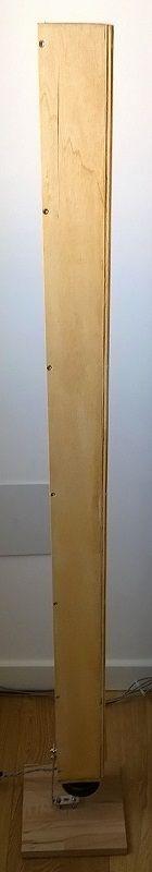 Schermmo acustico in legno.