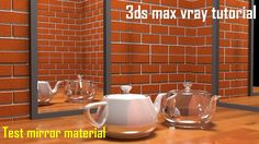 3ds max vray water effect tutorial youtube resources for Mirror vray material