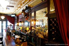 Where to go in Old City, Philadelphia. Sassafras is a historic Victorian bar that has been in operation since 1870