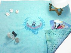 Isis Tarot Spread Cloth