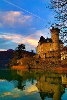 Château de Châteauvieux (Château de Duingt)lac d'Annecy Haute-Savoie France45.831437, 6.206297