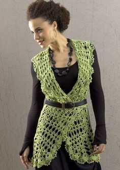 *Free Crochet Pattern: Deerfield Vest designed by Kristin Omdahl