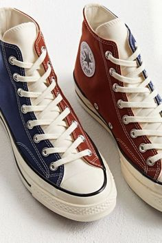Aesthetic Shoes, Chuck Taylor Sneakers, Chuck Taylors, Casual Shoes, Men's Shoes, High Tops, Urban Outfitters, High Top Sneakers, Air Jordans