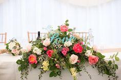 "Handmade English Garden Wedding By Katherine Ashdown Photography-love the ""love"""