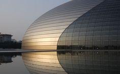 The National Grand Theatre. Pekin, Chiny. Produkty: SGG CLIMALIT, SGG DIAMANT, SGG STADIP DIAMANT. #glass #architecture #desing #future #futuristc_architecture #glassisthefuture