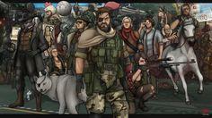 Fan art Metal Gear Solid V The Phantom Pain #ThePhantomPain #MetalGearSolidV #DiamondDogs #MGSV #MetalGearSolid #Quiet #Fanart #NakedSnake #VenomSnake #PunishedSnake #ThePhantomPain #BigBoss #DiamondDogs #fanart #SkullFace #KazuhiraMiller #KazMiller