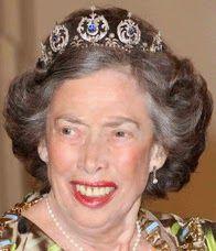Tiara Mania: Sapphire Tiara worn by Princess Elisabeth of Denmark