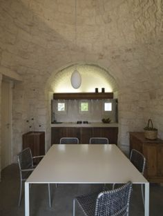 trullo in alto Salento Arch, Conference Room, Dining Table, Furniture, Home Decor, Swimming Pools, Dinning Table, Meeting Rooms, Interior Design