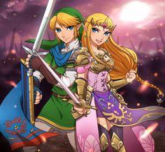 Hyrule Warriors Link  Princess Zelda #LegendofZelda