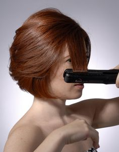 Flat Iron Tips and Tricks ~ Includes three videos....demos on how to style your hair with a flat iron, and how to flip your hair under and how to flip your hair up with a flat iron, as well as what not to do with a flat iron....very useful tips from a professional cosmetologist.