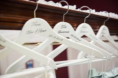 Fennes Essex Wedding Bespoke Hangers