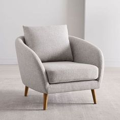 Mid Century Leather Chair - - Furniture Chair Table - Reupholster Chair Inspiration - Painted Chair For Kids Bedroom Chair, Sofa Chair, Chair Cushions, Upholstered Chairs, Lounge Chairs For Bedroom, Office Chairs, Sofa Set, Big Chair, Papasan Chair