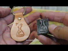 Cómo hacer un sello para imprimir cuero