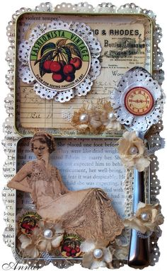 Kitchen Altered Art - Scrapbook.com